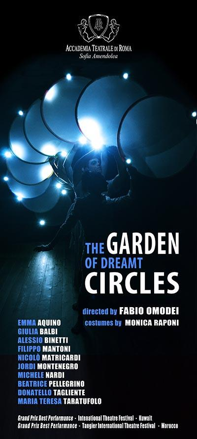 THE GARDEN OF DREAMT CIRCLES - Accademia Sofia Amendolea - Locandina