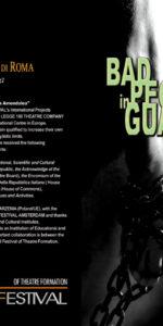 Bad People in Guantanamo Festival Polacco - Locandina