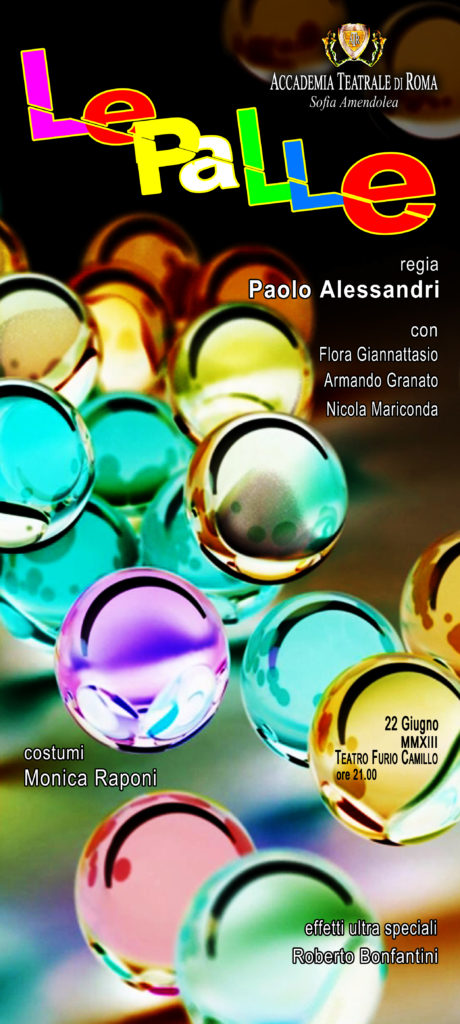 Le palle – Accademia Sofia Amendolea - Locandina