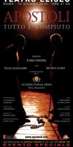 Debutto Spettacolo Apostoli Accademia Sofia Amendolea - Locandina