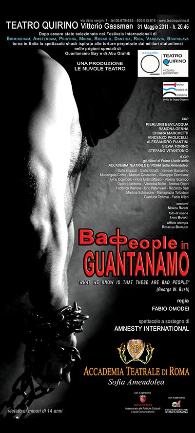 bad people in guantanamo – Accademia Sofia Amendolea –locandina