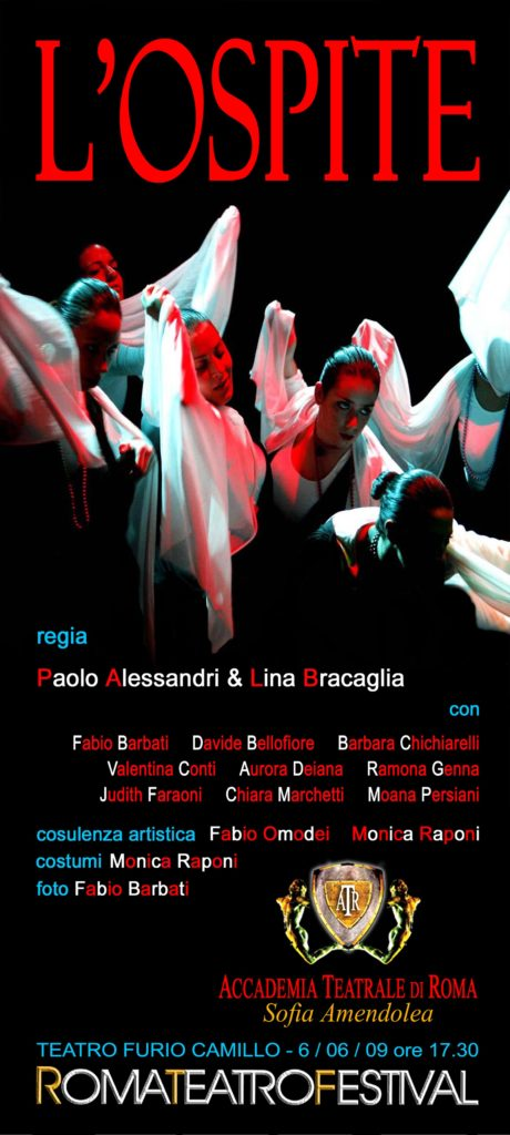 L'ospite – Accademia Sofia Amendolea - Locandina