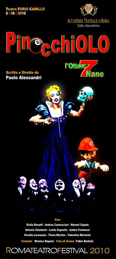 Pinocchio – Accademia Sofia Amendolea - Locandina