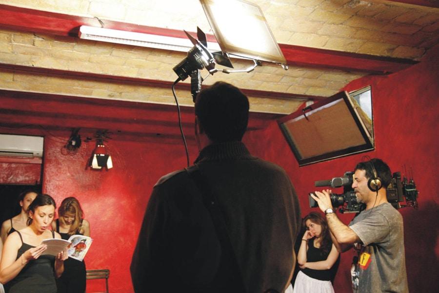 Telecamere di Rai 2 all'Accademia Sofia Amendolea