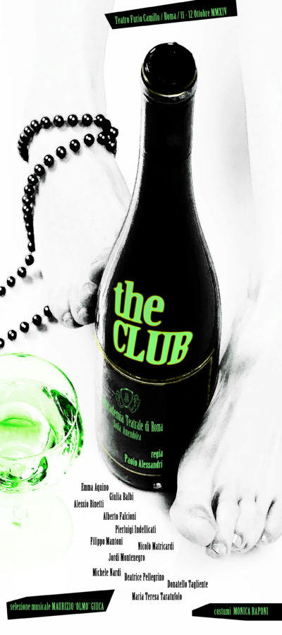 THE CLUB - Accademia Sofia Amendolea - locandina