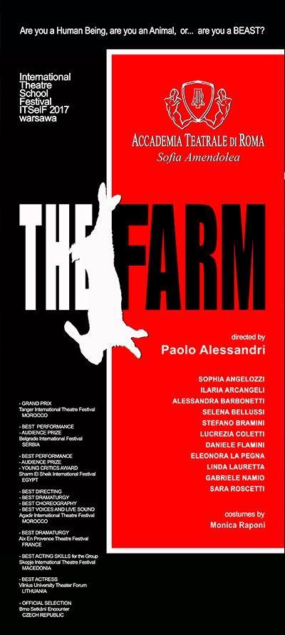 THE FARM - Accademia SOfia Amendolea - Locandina
