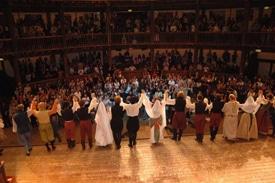 Accademia Sofia Amendolea ospite al Globe theatre
