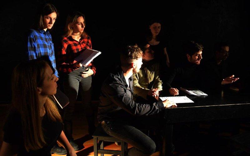 L'inverno del nostro scontento - Corso Base Propedeutico Accademia teatrale Sofia Amendolea
