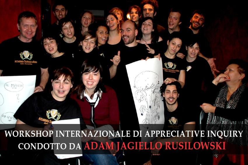 workshop RUSILOWSKI c/o Accademia Sofia Amendolea