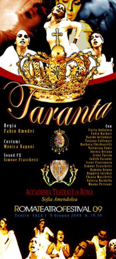 Taranta - Accademia Sofia Amendolea - Locandina