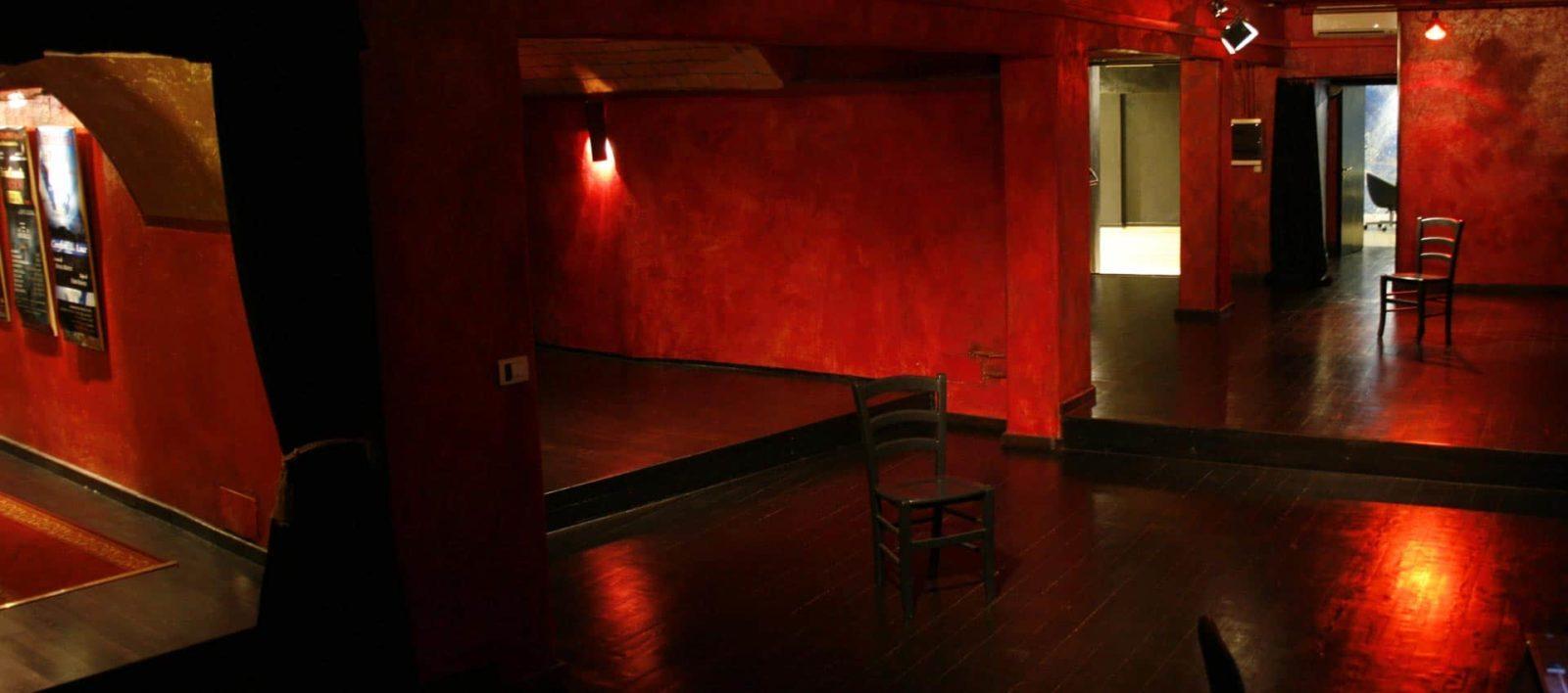 Accademia Teatrale Sofia Amendolea sala rossa