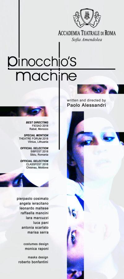 web Poster PINOCCHIO's MACHINE
